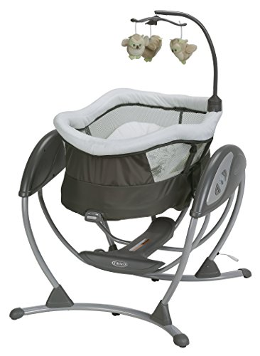 Graco DreamGlider Gliding Baby Swing, Percy