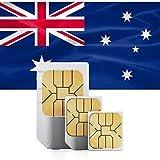 【使用期限2021/3/1/緊急値下げ/在庫1点のみ】SIMカード オーストラリア Optus回線 $40 4G高速通信 28日間 大容量 45GB 音声通話無制限(日本へ通話無料) SMS/MMS無制限 プリペイド RoadMountain社製SIMピンセット付き 日本語マニュアル付き