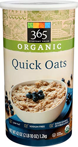 365 Everyday Value, Organic Quick Oats, 42 oz
