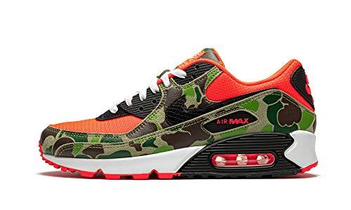 Nike Air Max 90 SP Sneaker (Infrared/Black, Numeric_38)