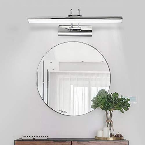 JIAXUN Luz del Espejo, llevada Moderna de Pared de luz 12W 90-260V, lámpara de Pared Impermeable Estilo Minimalista, Aplique Vanidad Cuerpo de iluminación, para el baño Tocador Lavabo,Cool Light