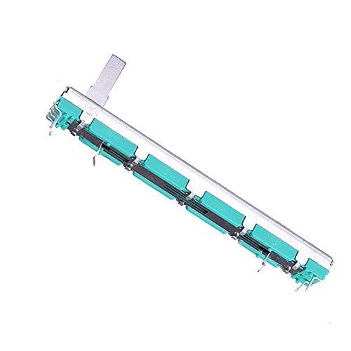 Dream Edge B103 75 mm Mixer Fader B10K Zweikanal-Straight-Schiebepotentiometer Speichermodule
