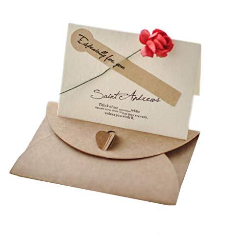 TK.Felly メッセージ カード 30枚セット 封筒 メッセージカード 席札 結婚式 テーブル