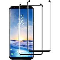 DASFOND [2 Unidades Samsung S8 Plus Cristal Templado, Protector de Pantalla para Samsung S8 Plus, 9H Dureza, Sin Burbujas, Anti-Huellas, Alta Transparencia