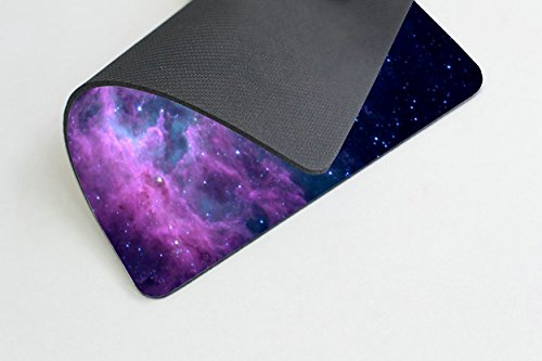 Smooffly Mouse Pad Purple Galaxy Customized Rectangle Non-Slip Rubber Mousepad Gaming Mouse Pad Mat Photo #4