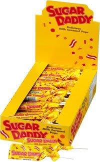 Sugar Daddy Pops (Small - 0.47oz): 48 Count