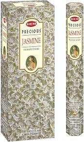 Hem – ENCENS Precious Jasmine – 1 lote de 3 cajas de 20 pilas de 20 g – Calidad superior