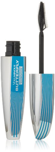 L'Oreal Paris Voluminous Butterfly Mascara Waterproof, Blackest Black
