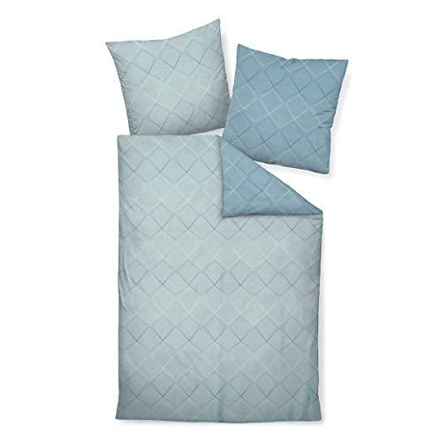 Janine Design Mako-Satin Bettwäsche J.D. 87053-02 1 Bettbezug 135 x 200 cm + 1 Kissenbezug 80 x 80 cm