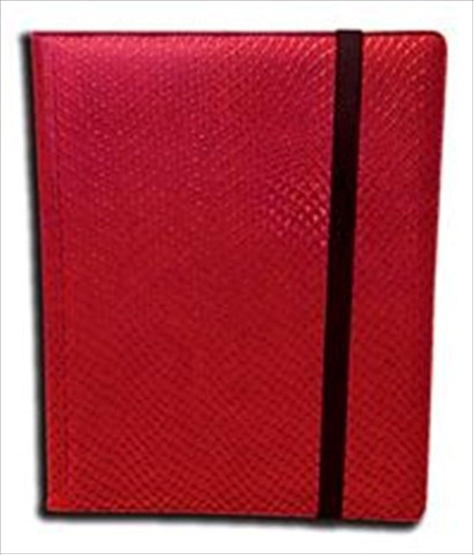 Legion Supplies BN9DHR Binder 9 Pocket Elder Dragon Hide Red