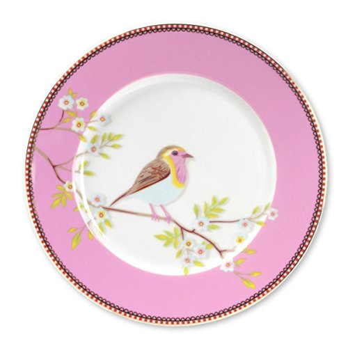 Plate Early Bird Pink - 21 cm