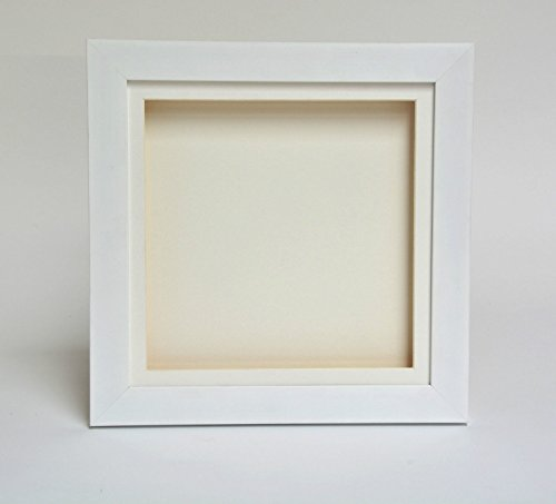 3D 2' Deep Box Picture Frame-A3-White