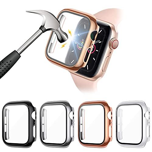 FITA [4 Piezas] Protector Funda Compatible con Apple Watch Series 6/5/4/SE 40MM...