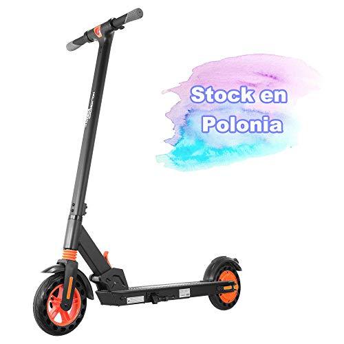 E Scooter Stock en Polonia Kugoo Kirin S1 Adultos eléctrico Plegable App Control 350W Motor 6AH Batería de Alto Rendimiento La Velocidad máxima alcanza los 25 km/h Neumáticos de 8 Pulgadas
