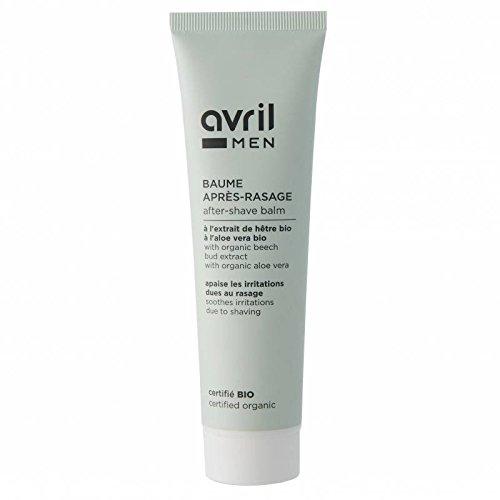 AVRIL - Aftershave-Balsam - Zertifizierte Bio - Aloe Vera - Weiche, glatte und hydratisierte Haut - Beruhigt und belebt - Revitalisiert die Haut - Vegan - 100ml