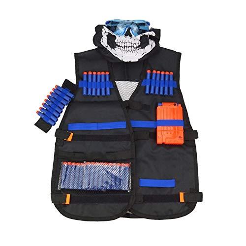 HXSZWJJ Chaleco Tctico Negro Chaleco Chaleco Soporte Clip De Juguete Elite (Color : Black, Size : One Size)