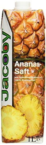 Jacoby Ananassaft aus Ananassaftkonzentrat, 6er Pack (6 x 1 l)