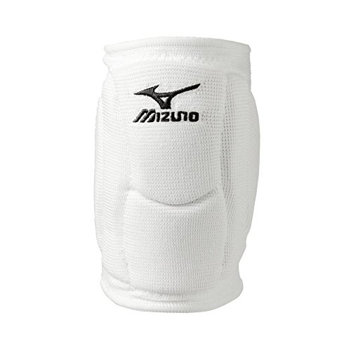 Mizuno Elite 9 SL2 Volleyball Knieschoner, Unisex-Erwachsene, SL2 Volleyball Kneepads, weiß, Large