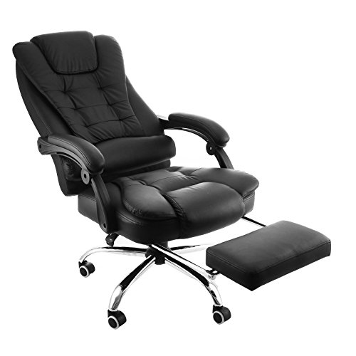 Sensational Best Ergonomic Recliner Chairs With Footrest For Office Use Machost Co Dining Chair Design Ideas Machostcouk
