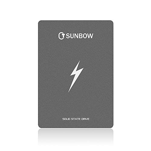 TCSUNBOW 120GB SATAIII 2.5 inch Internal Solid State Drive for Notebook Tablet Desktop PC, Black
