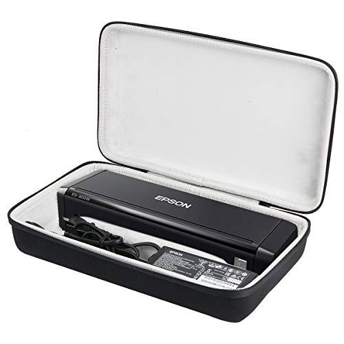 Khanka Hard Case for Epson Workforce ES-300W / ES-200 Wireless Portable Scanner