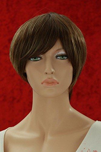 Wigs Women Short Brown/Blonde (perruque)