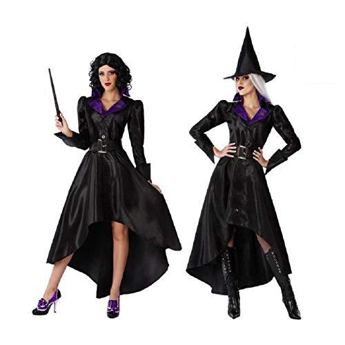 Atosa Atosa-65883 65883 Disfraz Bruja Aos 20 XL Mujer Negro, Color