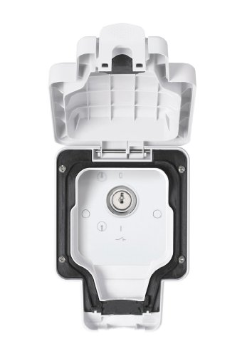 MK Masterseal Plus K56425WHI - Interruttore con chiave 20A