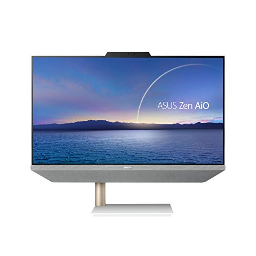 """ASUS Zen AiO 24, 23.8"""" FHD Non-Touch-Display, AMD Ryzen 5 5500U-Processor, 8GB DDR4-RAM, 512GB SSD, Windows 10 Home, Kensington Lock, Wireless-Keyboard and-Mouse Included, M5401WUA-DS503"""
