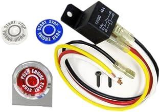 Push Button Start Kit Ignition Engine Starter Igniter