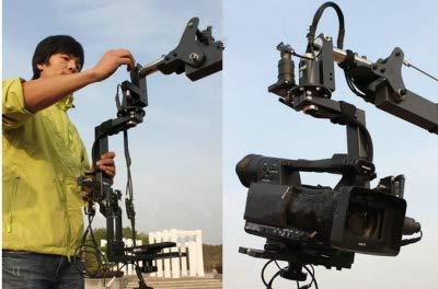 Gowe 15,8FT PAN TILT Kopf 5Kilo Kamera Kran Jib Arm JIBS Video LCD Monitor Kit