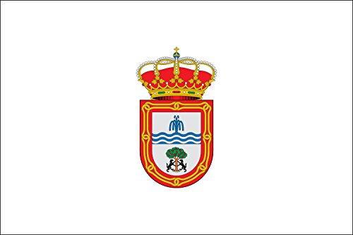 magFlags Bandera Large Baños de Montemayor, Cáceres, España | Bandera Paisaje | 1.35m² | 90x150cm
