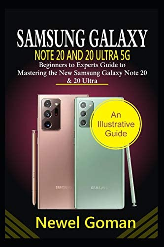 SAMSUNG GALAXY NOTE 20 AND 20 ULTRA 5G Beginners to experts guide to mastering the new Samsung product image