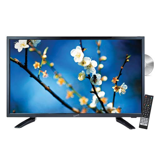 Lowest Prices! Supersonic SC-2212H LED Widescreen HDTV 22, Built-in DVD Player with HDMI, USB, SD &...