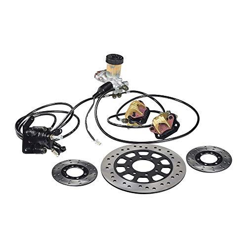 AlveyTech Brake Kit with Master Cylinder, Calipers, Hoses for Go-Karts