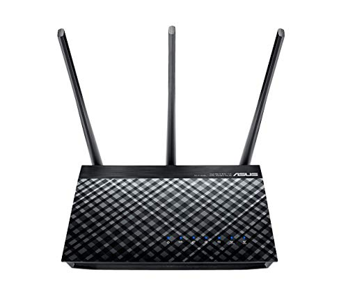 Asus DSL Modem Route Wireless AC750 Schwarz
