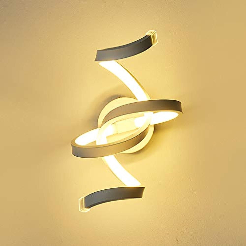 Rishx Moderne Einfachheit Acryl LED Wandleuchte Kreative Persnlichkeit Metall Schlafzimmer Nachttischlampe Leuchte Europischen Zeitgenssische Metall Restaurant Cafe Hotel Business Dekorative Beleuc