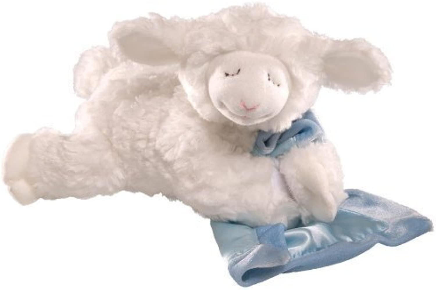 Gund Winky Lamb with Blankie-Blau by Gund