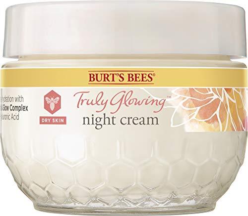Burts Bees Truly Glowing Night Cream - Dry Skin For Unisex 1.8 oz Cream