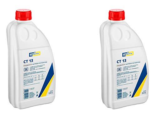 ILODA 2X Cartechnic 1,5 Liter Kühlerfrostschutz Anti-Freeze Rotviolett CT 13 Kühlflüssigkeit Frostschutz Radiator