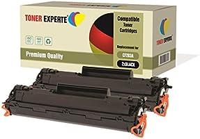 Kit 2 TONER EXPERTE® CF283A 83A Toner compatibili per HP Laserjet Pro MFP M125a, M125nw, M125rnw, M126a, M126nw, M127fn,...