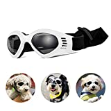Pet Leso® Dog Goggles Stylish Doggie Puppy Sunglasses Windproof Protection Doggles - White