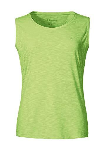 Schöffel Damen Top Namur2 Shirt, sharp green, 42