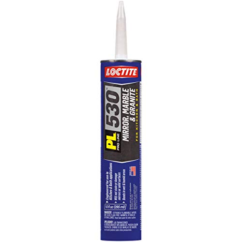 Loctite PL 530 Mirror, Marble and Granite Construction Adhesive 10-Ounce Cartridge (1693636)