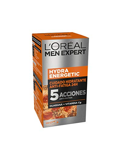 LOreal Paris Men Expert - 24H Hydra Energetic cuidado hidratante anti-fatiga, 50 ml