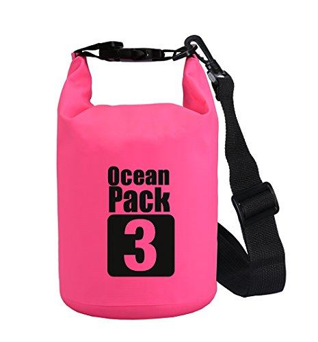 2L/3L/5L/10L/15L/20L/30L 500D zeildoek Heavy-duty PVC waterdichte droge zak zak voor kajakken/varen/kanoën/vissen/raften/zwemmen/kamperen/snowboarden