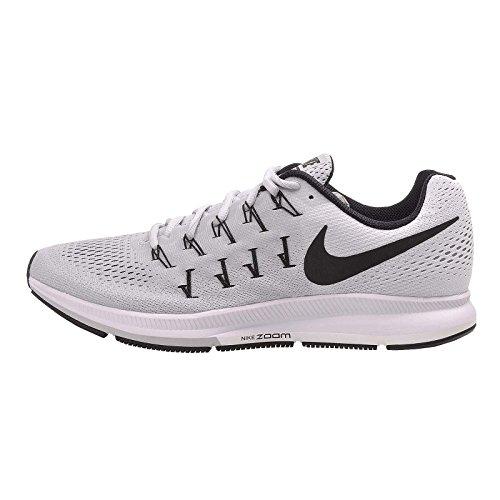 Nike Air Zoom Pegasus 33 TB, Zapatillas de Running para Hombre, Plateado (Pure...