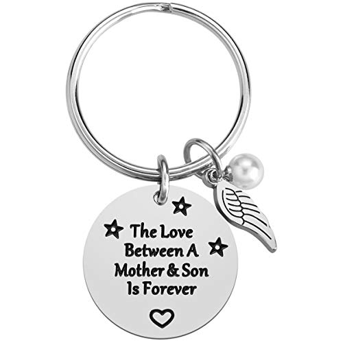Mom Gifts from Son  Mother#039s Day Gifts from Son Mom Birthday Gifts Mother Son Gift Mother Keychain from Son