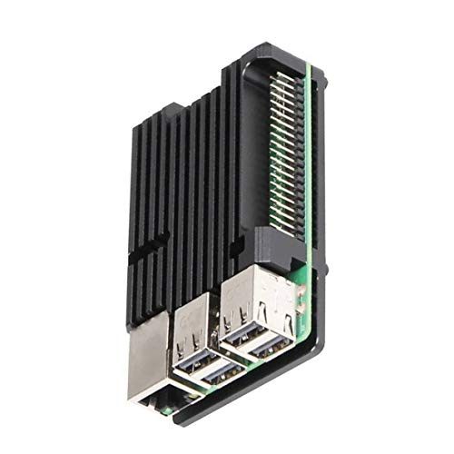 nbvmngjhjlkjlUK Raspberry Pi 3B + 3B Boîtier en Aluminium Sans ventilateur Boîtier de Protection pour boîtier de radiateur
