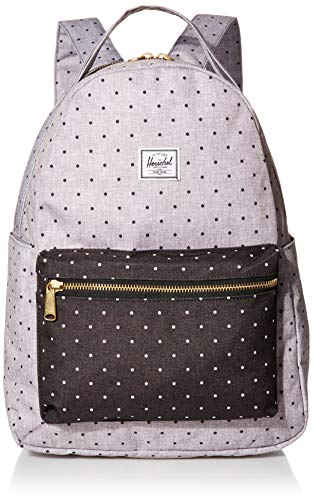 Herschel Nova Mid-Volume Backpack Polka Dot Crosshatch Grey/Black